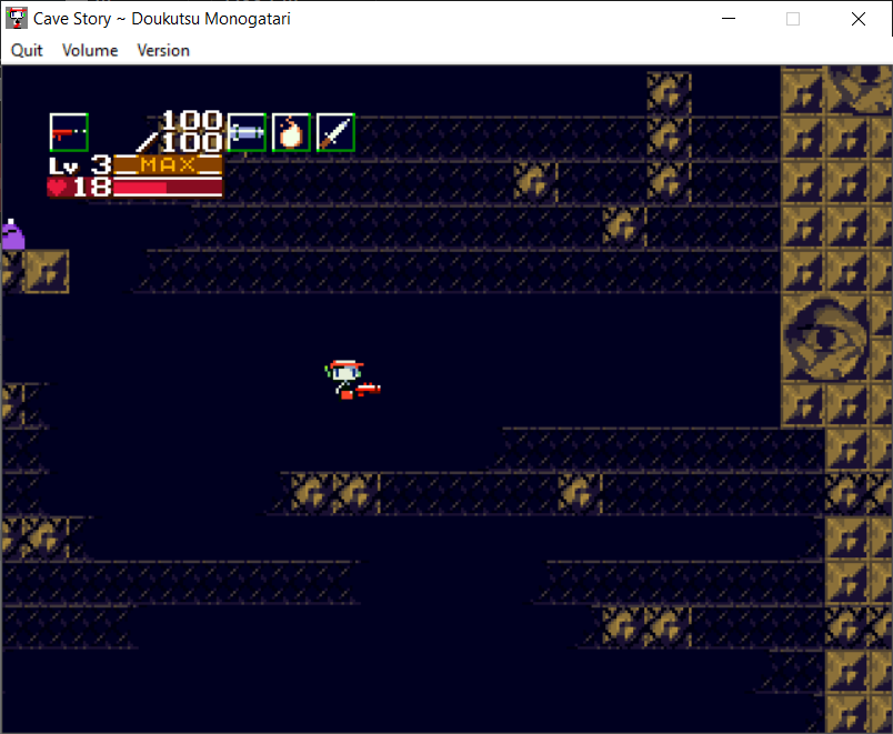 cant jump . cavestory.PNG