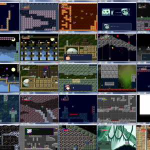 Cave story mods collage