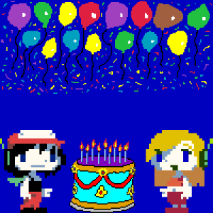 My birthday avatar