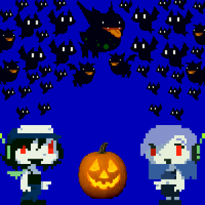 My Halloween avatar