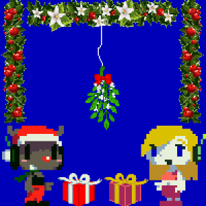 My Christmas avatar