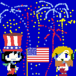 My 4th of July avatar
