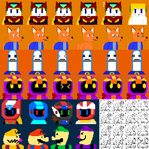 all my cave story portraits (so far)
