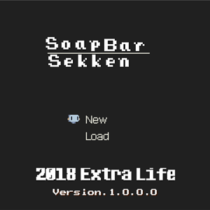 Soap Bar Story Title screen