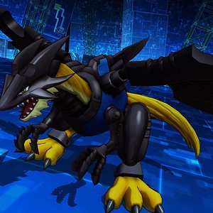 my favorite digimon from the games but i cant remember his name, ever